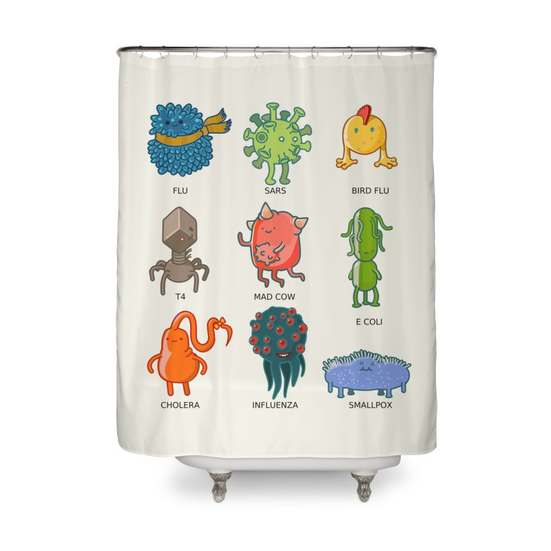 Know your poison Home Shower Curtain by