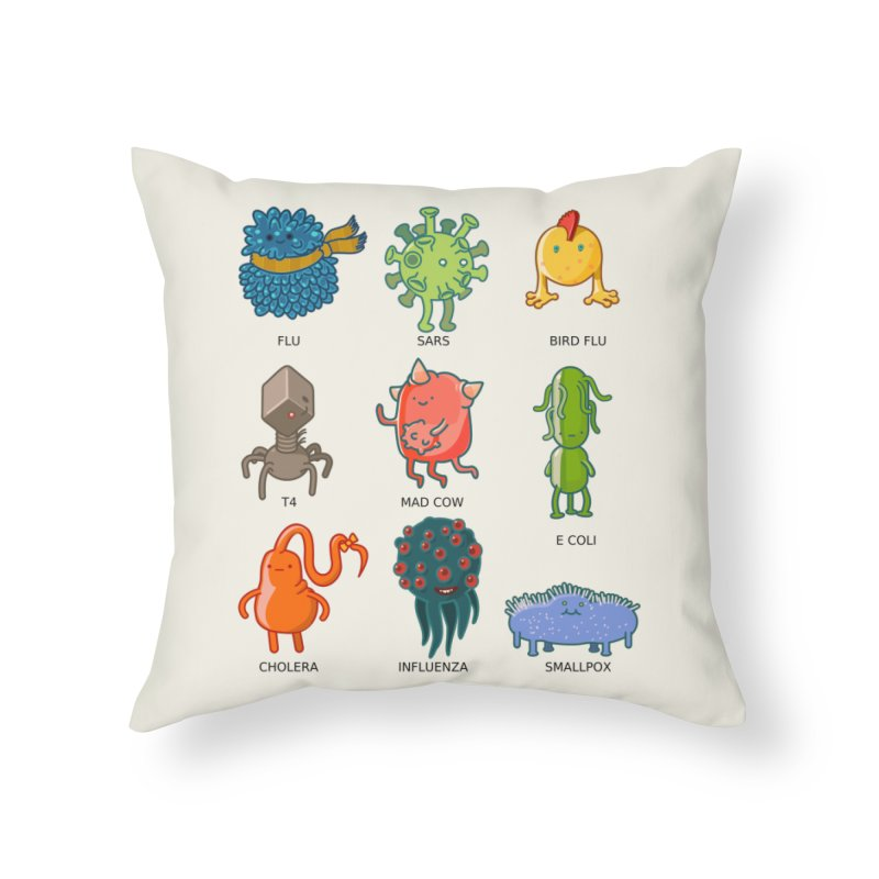 Know your poison Home Throw Pillow by