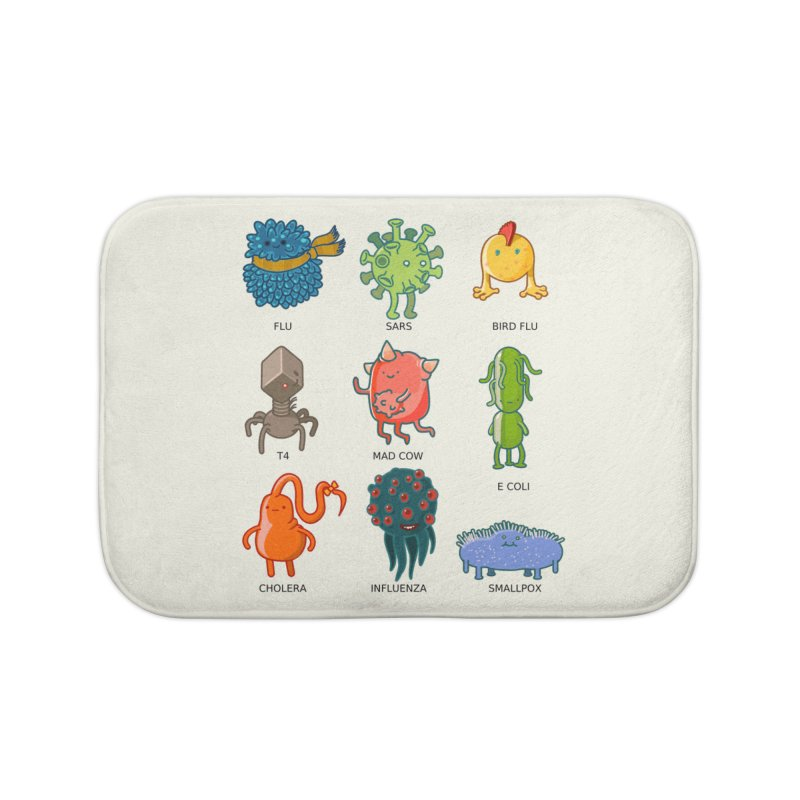 Know your poison Home Bath Mat by