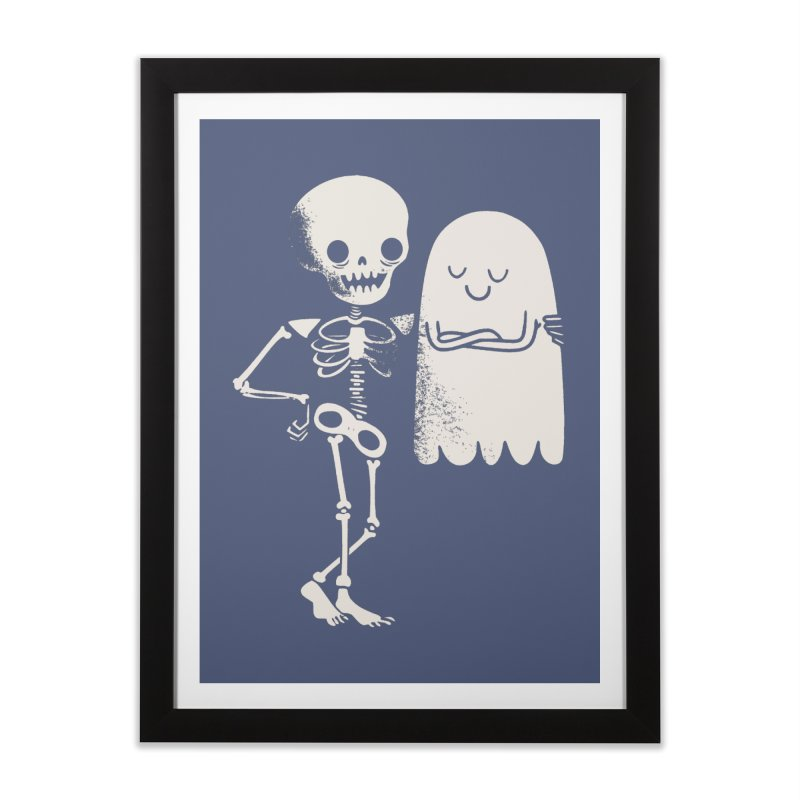Buddy and Saul Home Framed Fine Art Print by