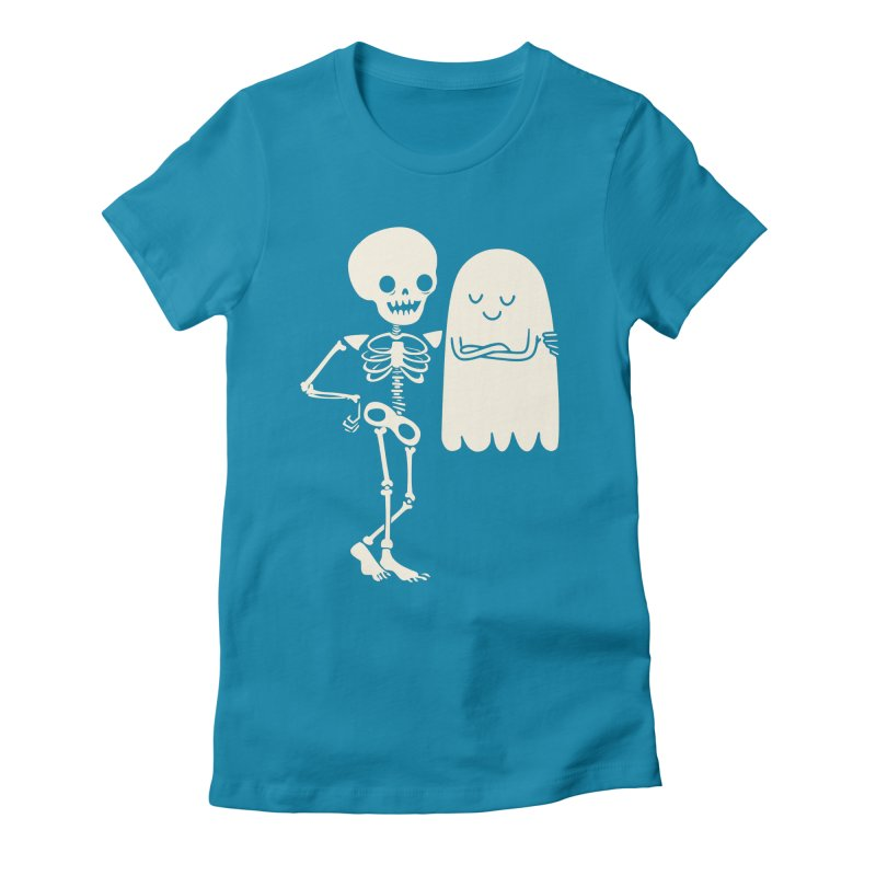 Buddy and Saul Women's Fitted T-Shirt by