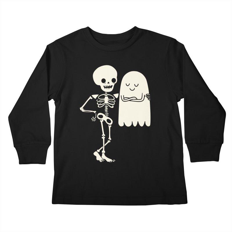 Buddy and Saul Kids Longsleeve T-Shirt by