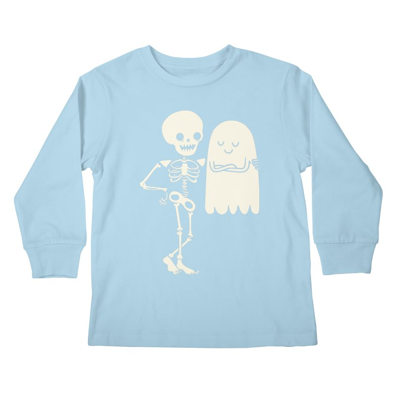 Buddy and Saul Kids Longsleeve T-Shirt by