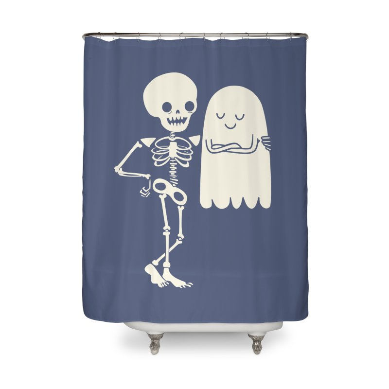 Buddy and Saul Home Shower Curtain by