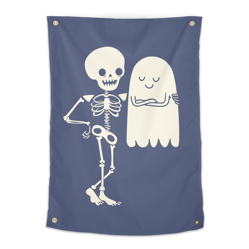 Buddy and Saul Home Tapestry by