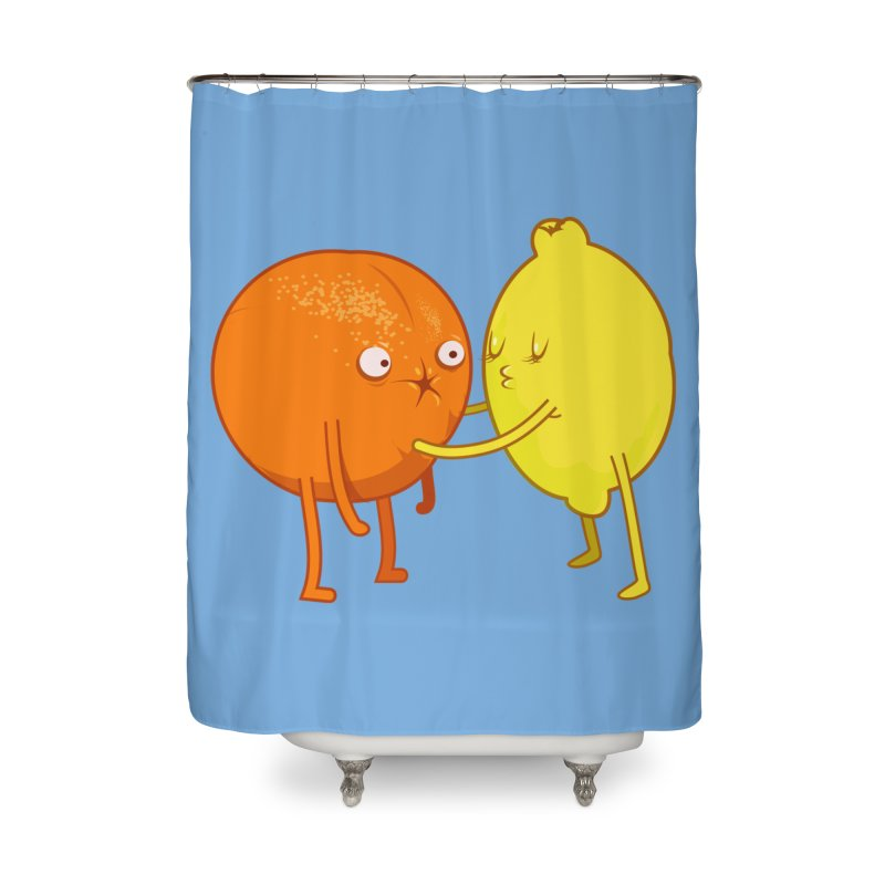 Sour Home Shower Curtain by