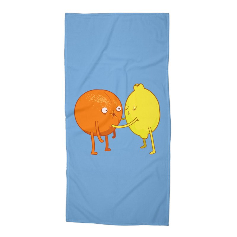 Sour Accessories Beach Towel by
