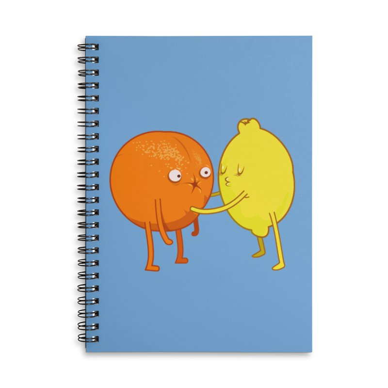 Sour Accessories Lined Spiral Notebook by