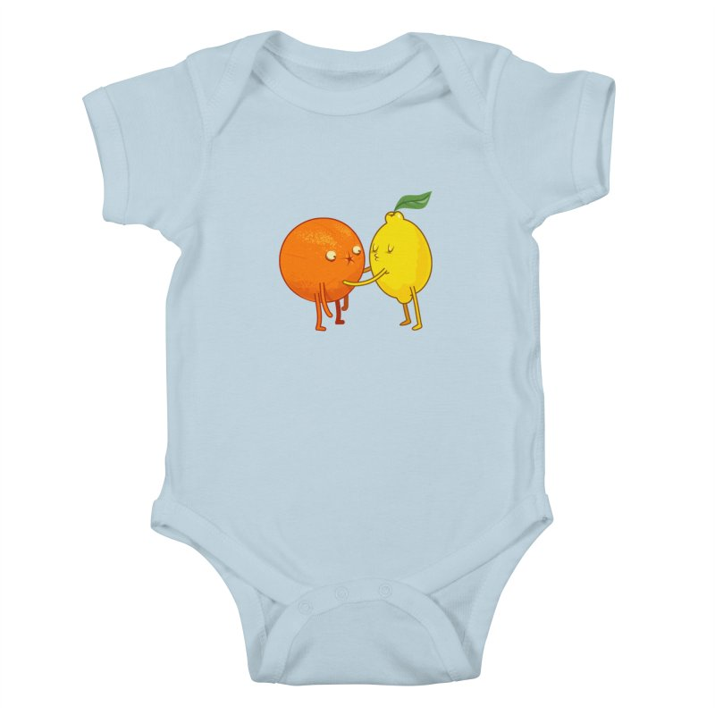 Sour Kids Baby Bodysuit by weoos02's Artist Shop