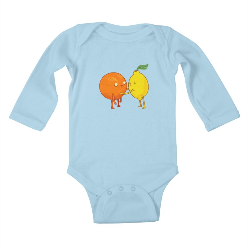 Sour Kids Baby Longsleeve Bodysuit by weoos02's Artist Shop