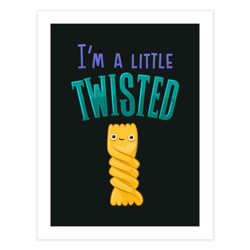 Twisted Home Fine Art Print by
