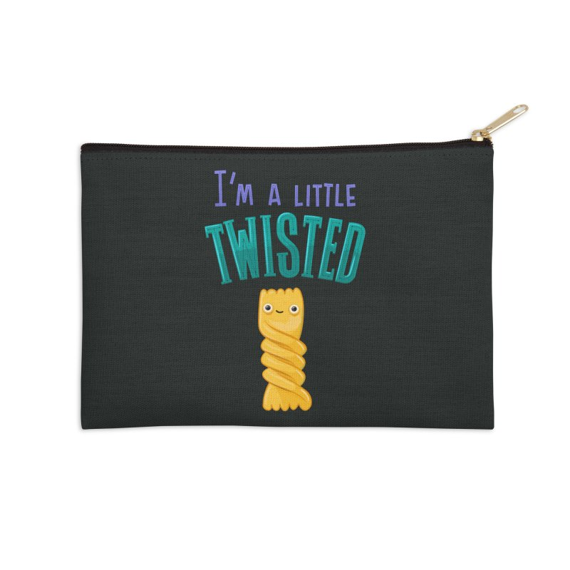 Twisted Accessories Zip Pouch by