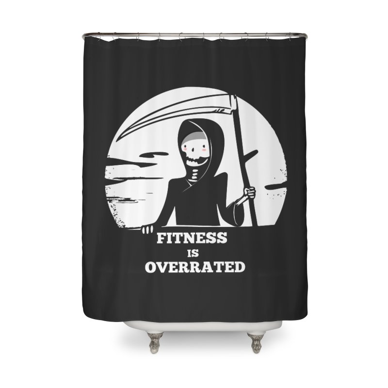 Fitness Home Shower Curtain by