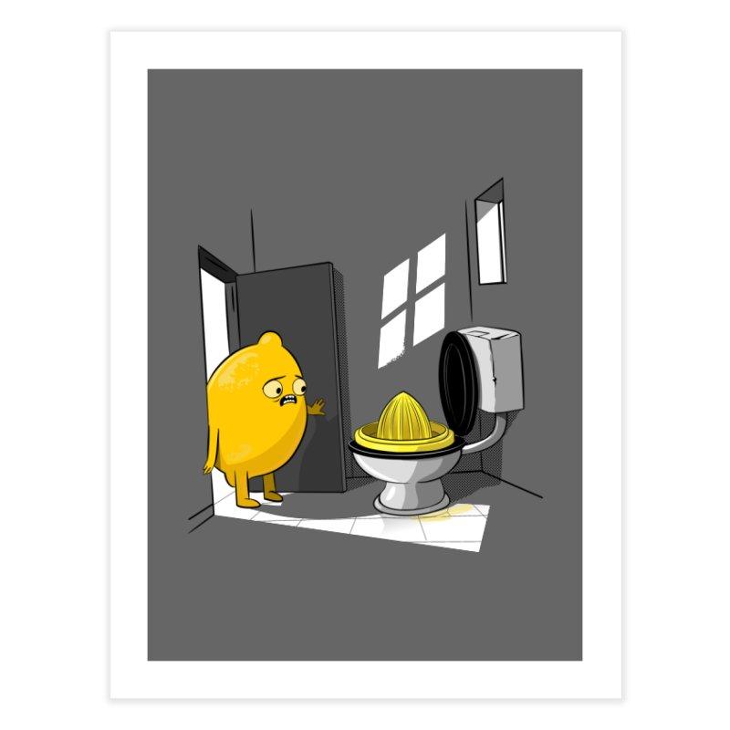 Lemon Home Fine Art Print by