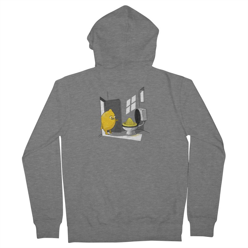 Lemon Men's Zip-Up Hoody by