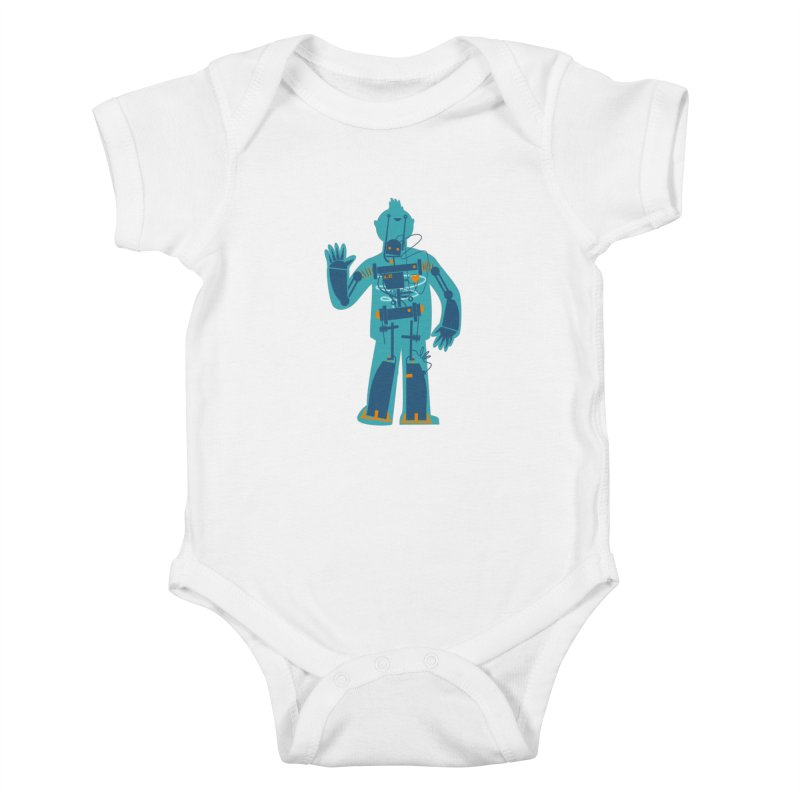 Bait Kids Baby Bodysuit by weoos02's Artist Shop