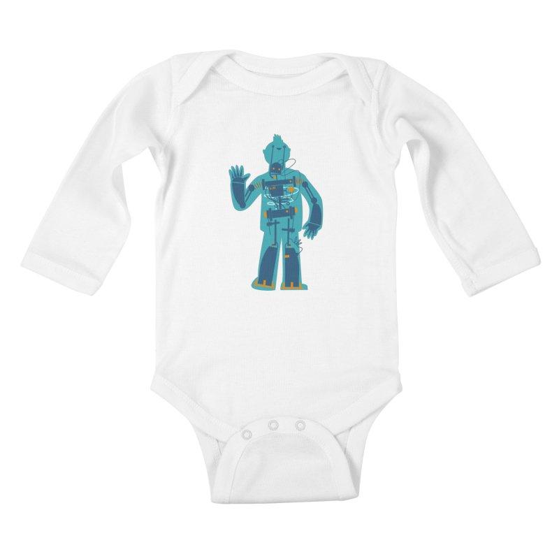 Bait Kids Baby Longsleeve Bodysuit by weoos02's Artist Shop