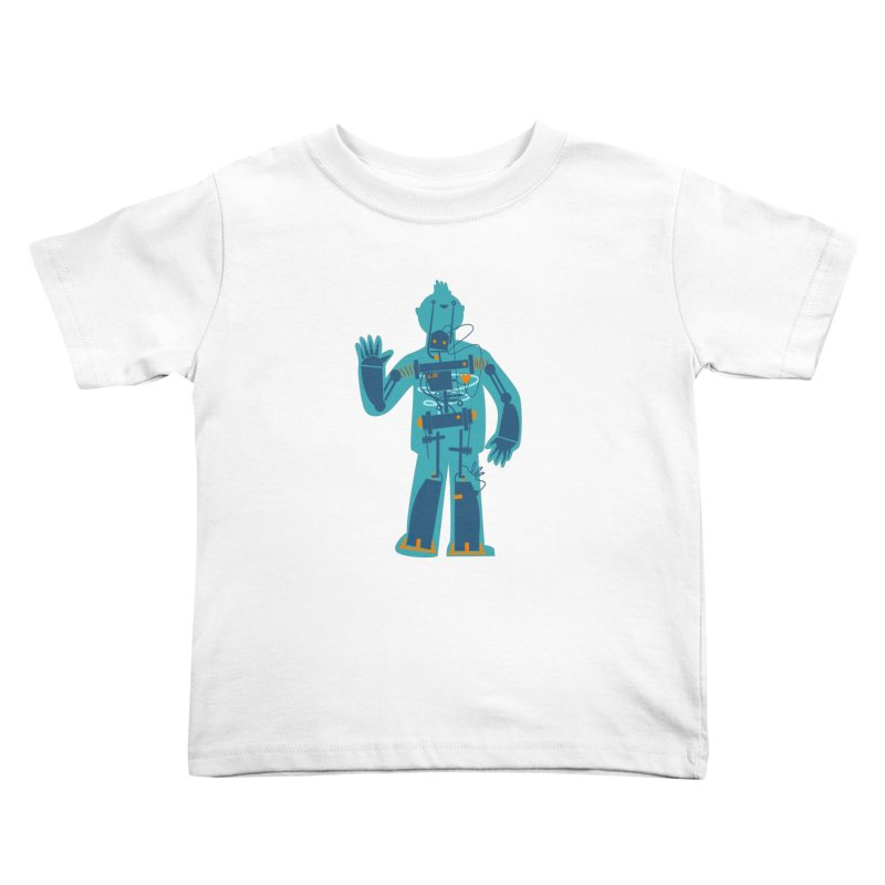 Bait Kids Toddler T-Shirt by weoos02's Artist Shop