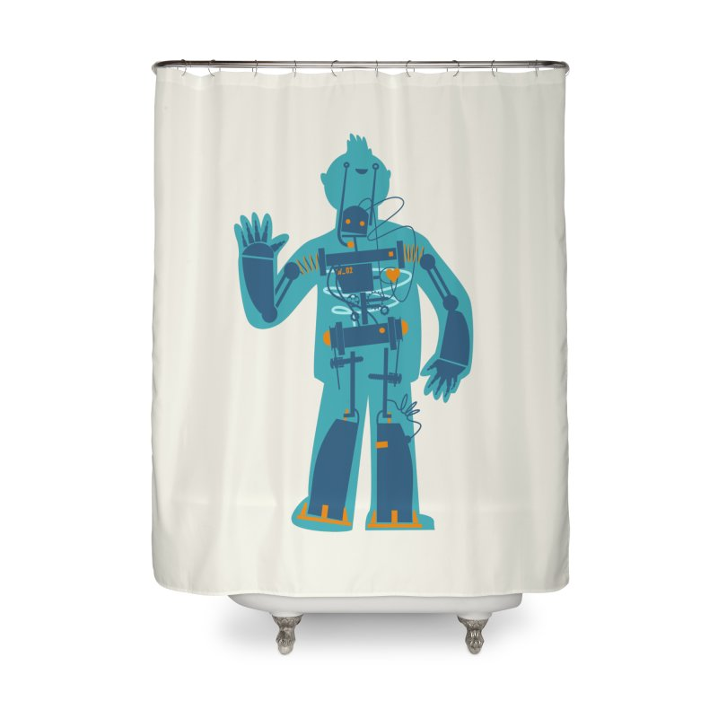 Bait Home Shower Curtain by