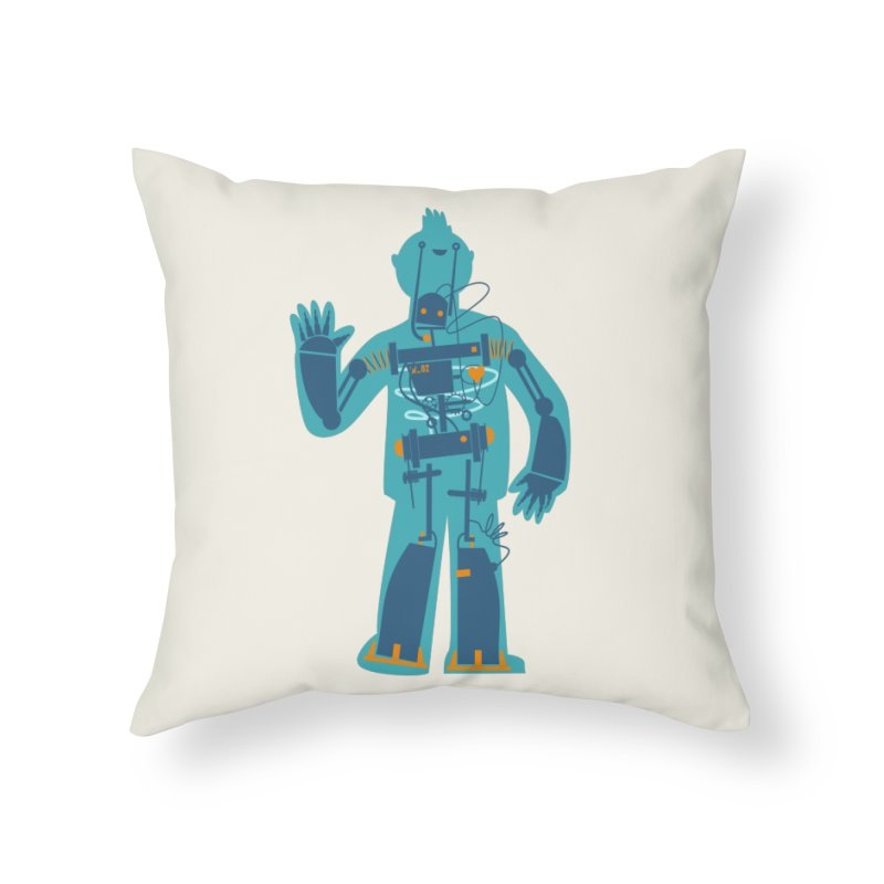 Bait Home Throw Pillow by