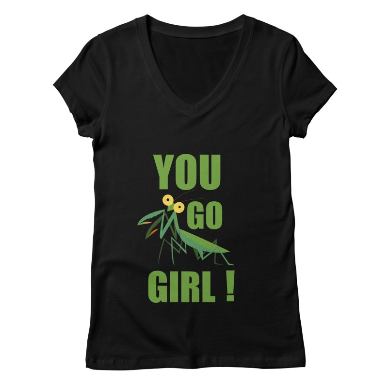 you go ! Women's V-Neck by