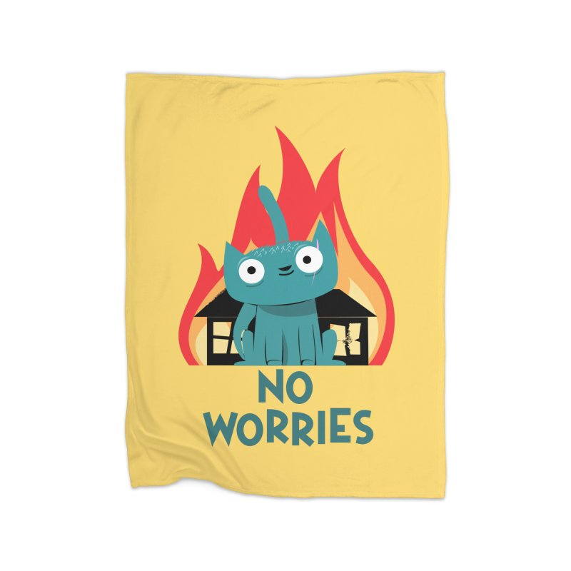 No worries Home Blanket by
