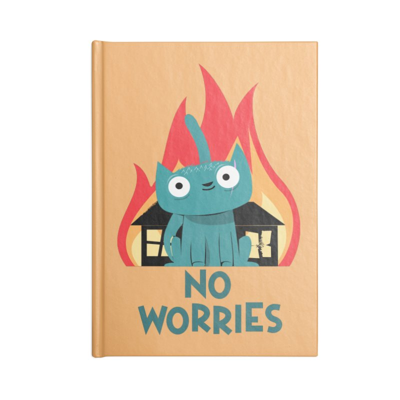 No worries Accessories Notebook by weoos02's Artist Shop