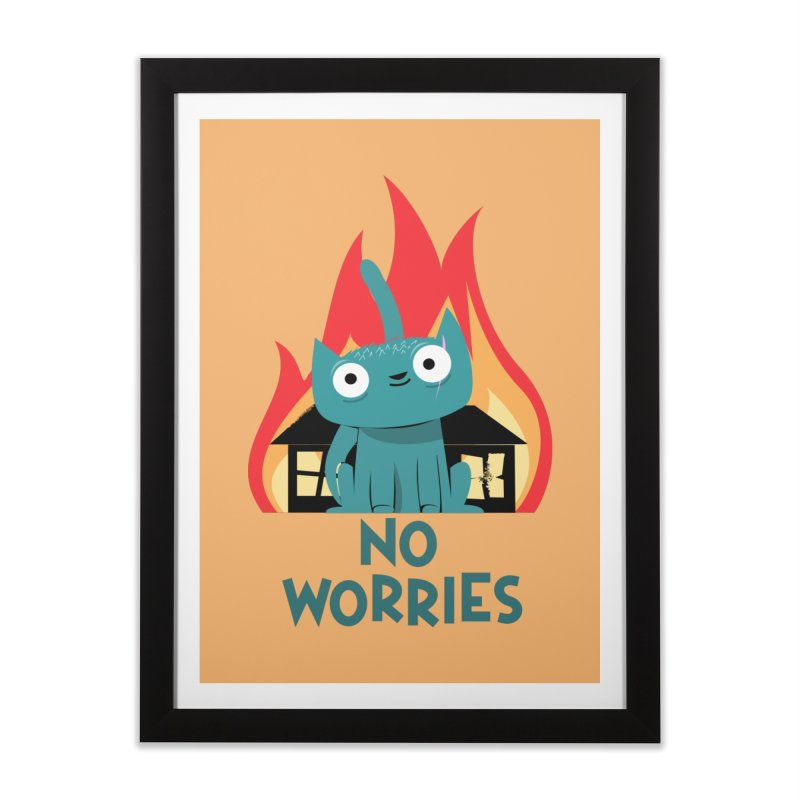 No worries Home Framed Fine Art Print by weoos02's Artist Shop