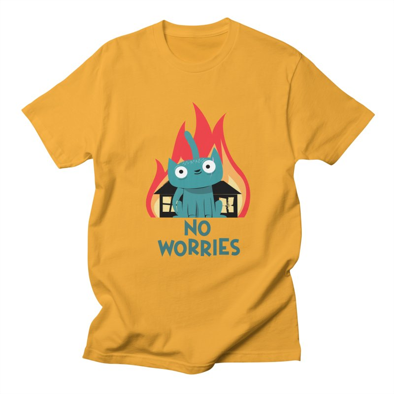 No worries Men's T-shirt by weoos02's Artist Shop