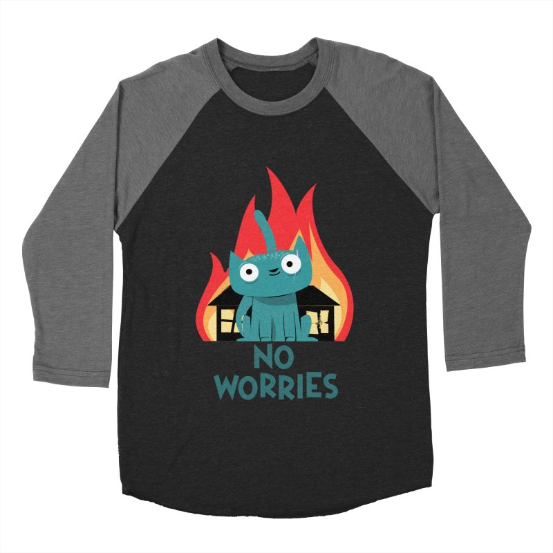 No worries Men's Baseball Triblend T-Shirt by weoos02's Artist Shop
