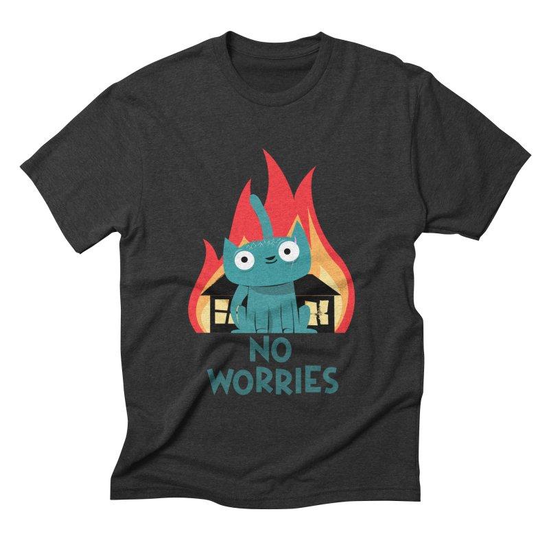 No worries Men's Triblend T-shirt by weoos02's Artist Shop