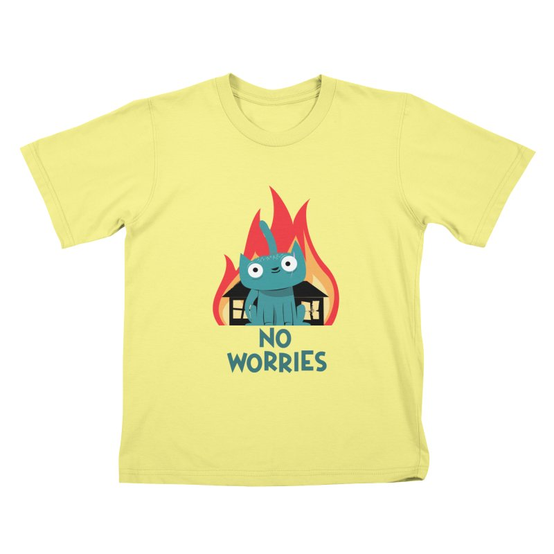 No worries Kids T-shirt by weoos02's Artist Shop