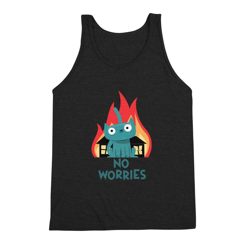 No worries Men's Triblend Tank by weoos02's Artist Shop
