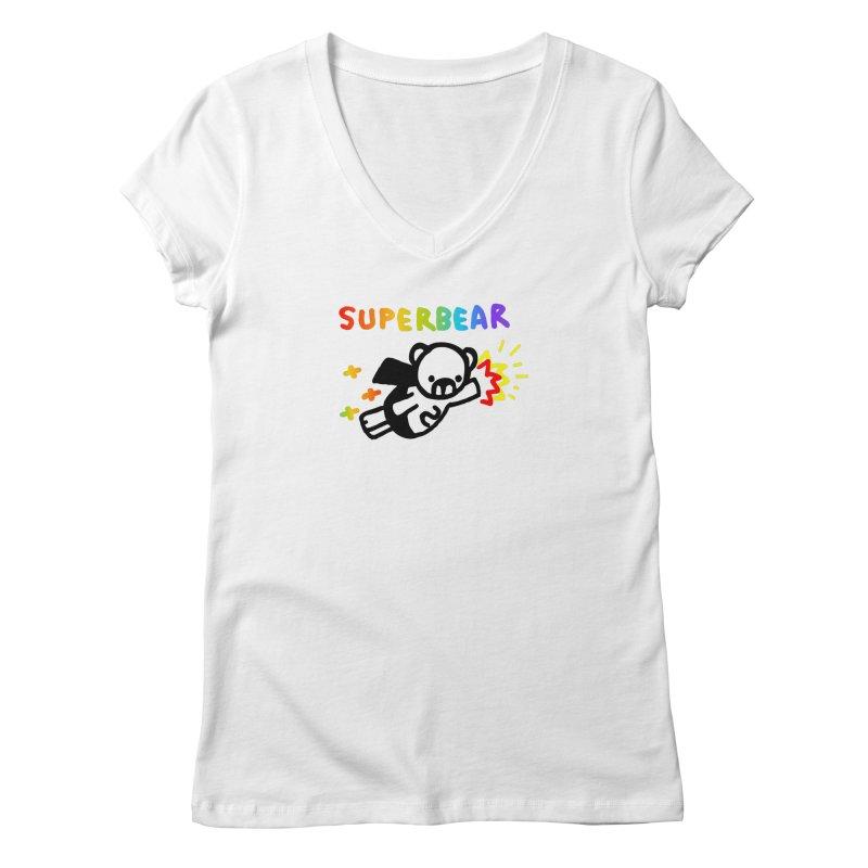 superbear Women's V-Neck by