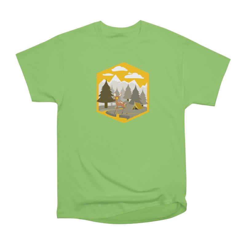 Yellowstoned Men's Heavyweight T-Shirt by