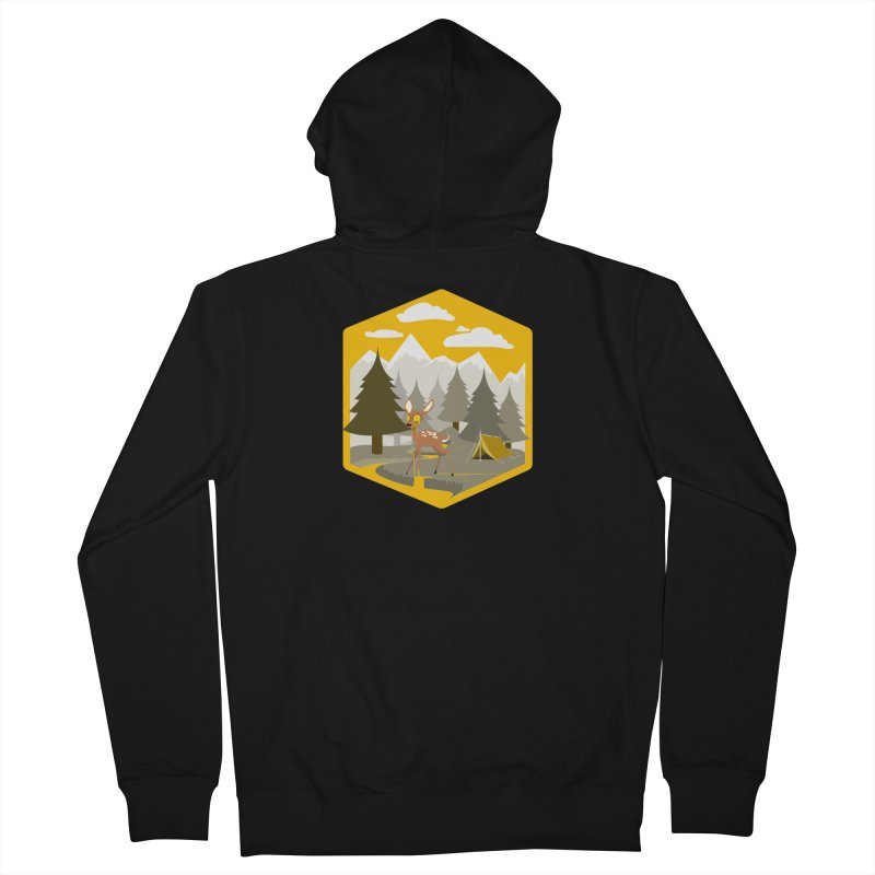 Yellowstoned Men's French Terry Zip-Up Hoody by