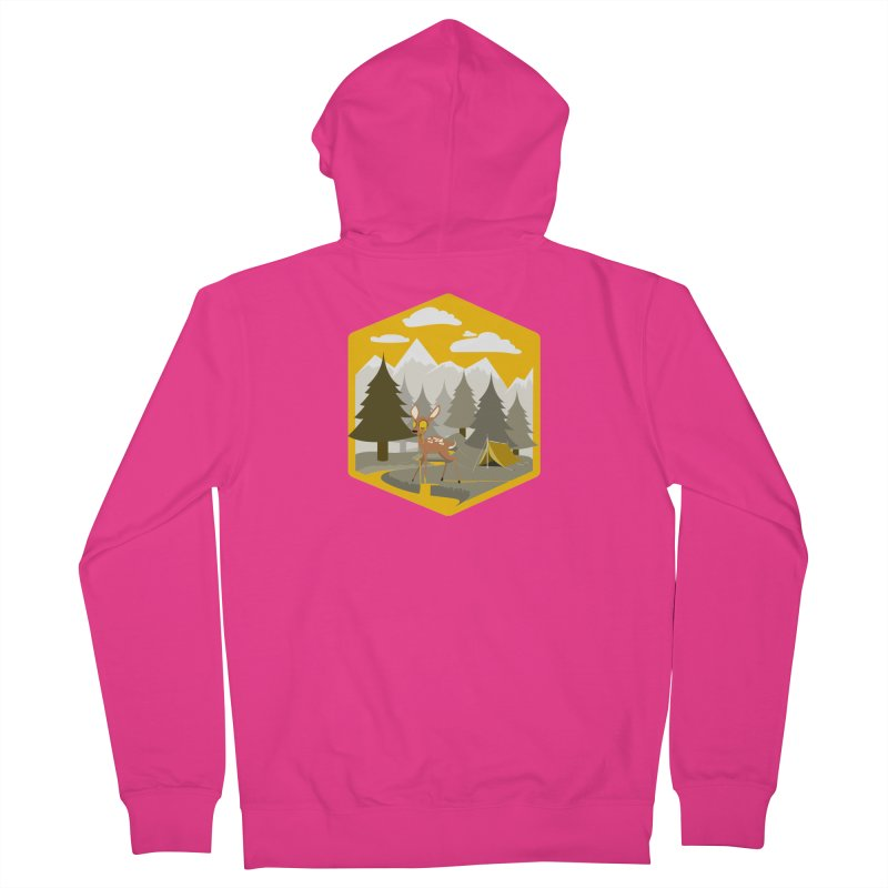 Yellowstoned Men's Zip-Up Hoody by