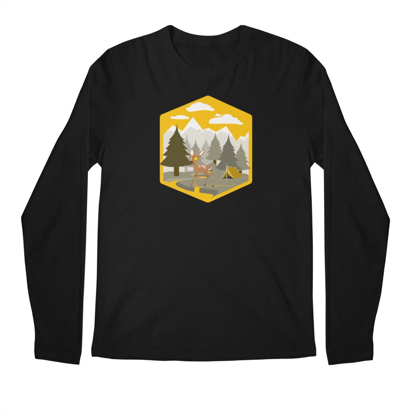 Yellowstoned Men's Longsleeve T-Shirt by