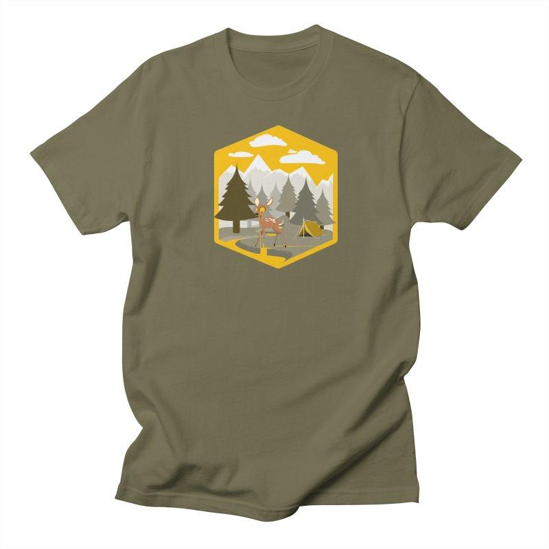Yellowstoned Men's Regular T-Shirt by