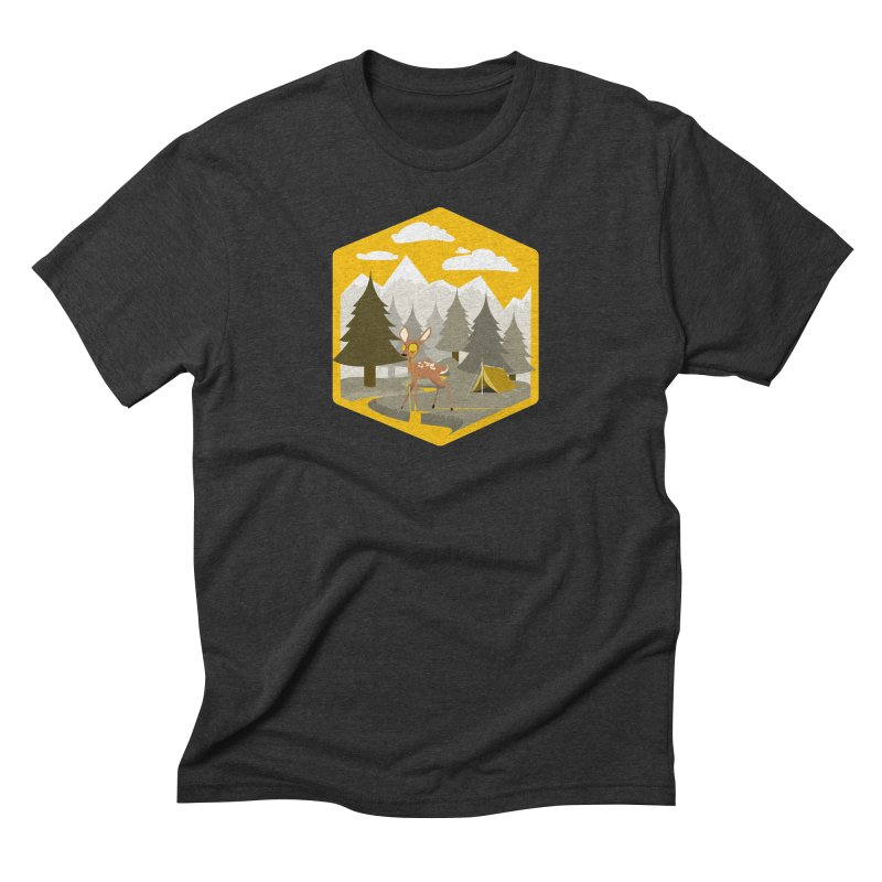 Yellowstoned Men's Triblend T-Shirt by