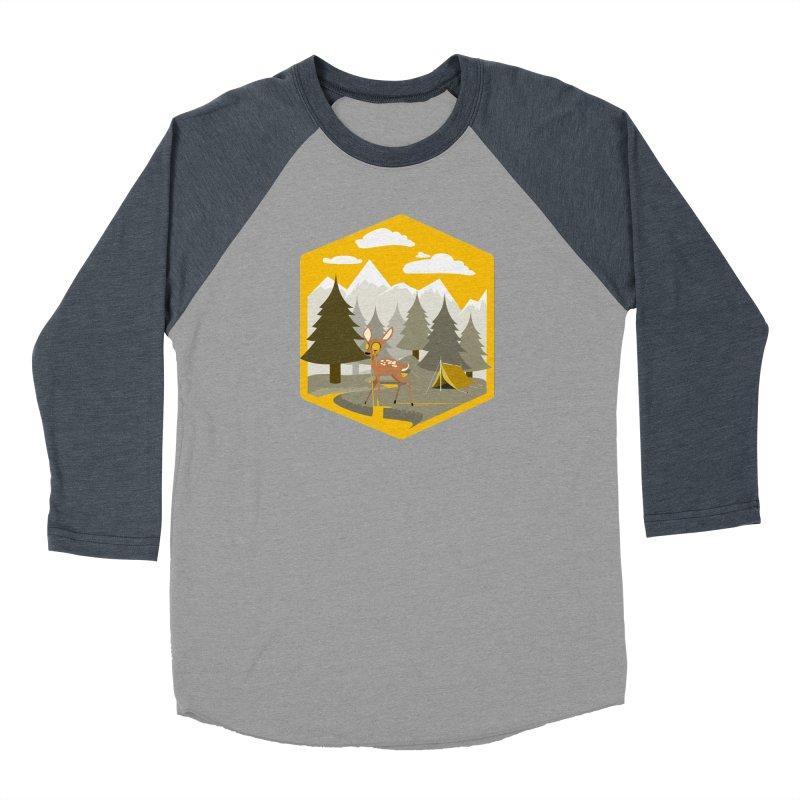Yellowstoned Men's Baseball Triblend T-Shirt by