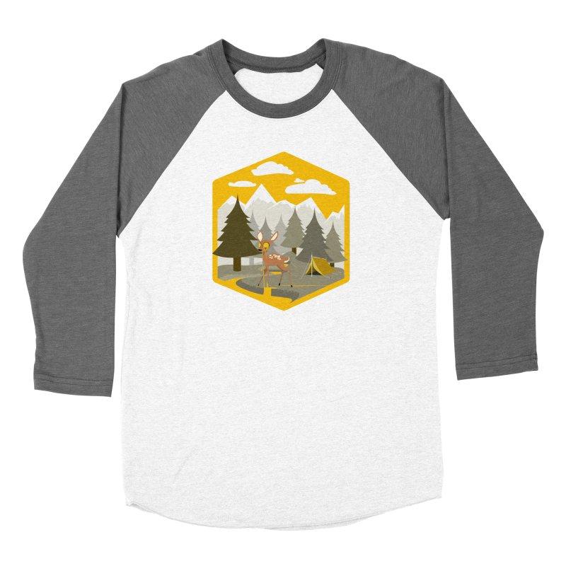 Yellowstoned Men's Baseball Triblend Longsleeve T-Shirt by