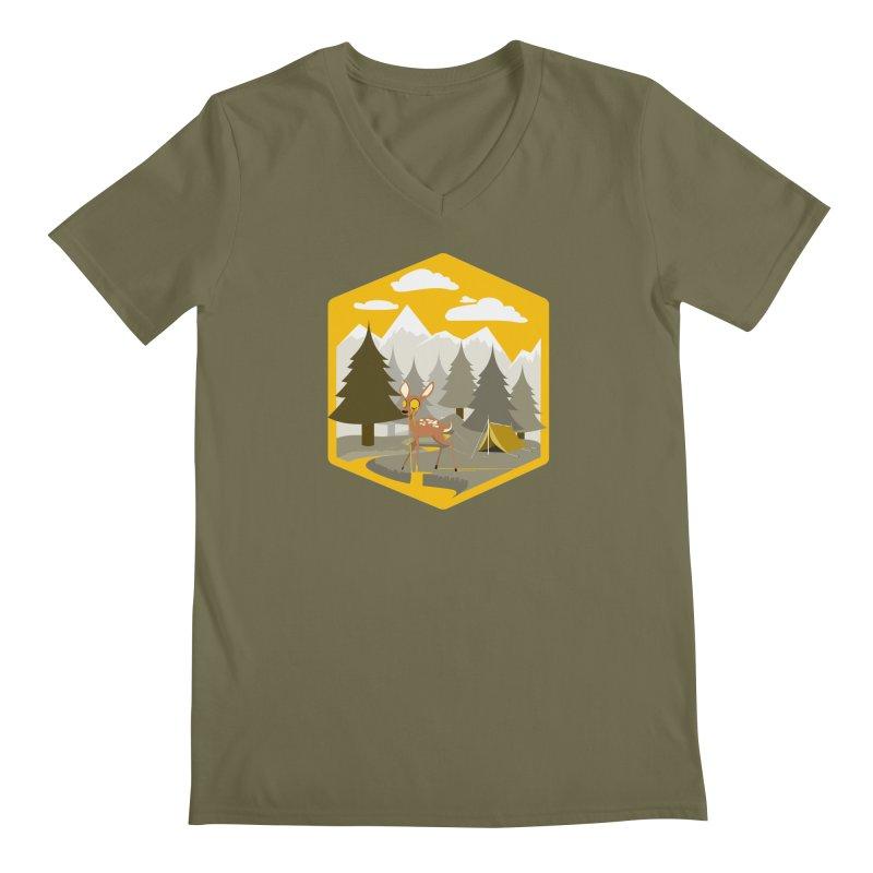 Yellowstoned Men's Regular V-Neck by
