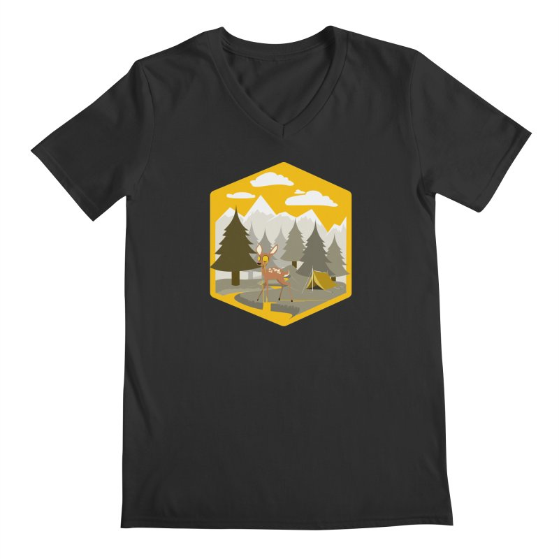 Yellowstoned Men's V-Neck by