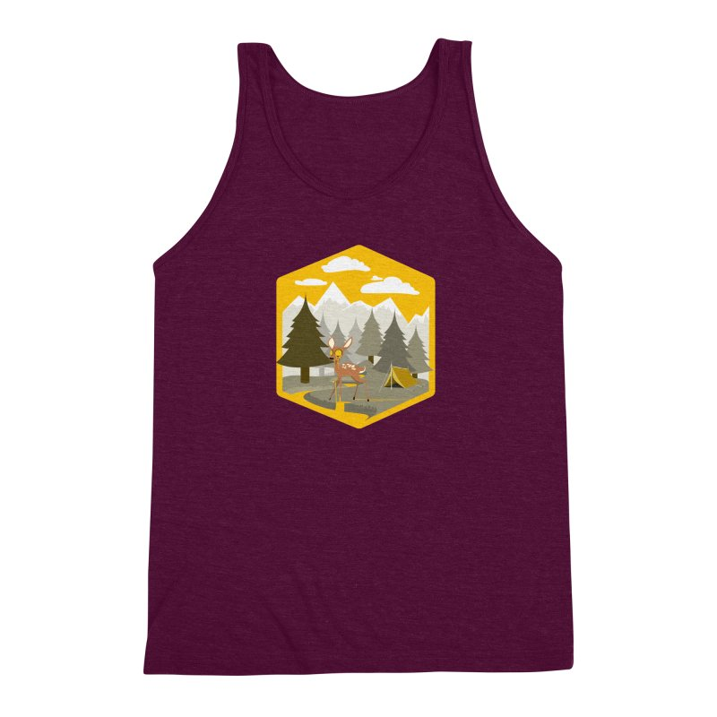 Yellowstoned Men's Triblend Tank by