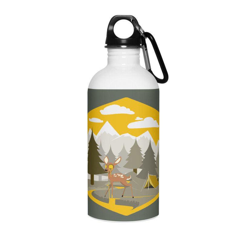 Yellowstoned Accessories Water Bottle by