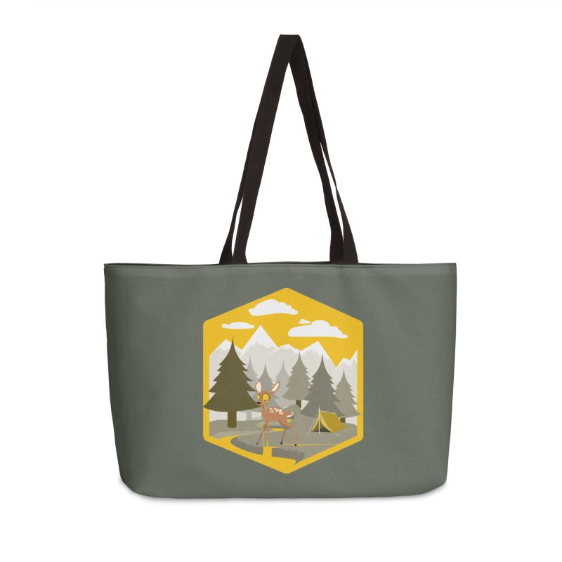 Yellowstoned Accessories Weekender Bag Bag by