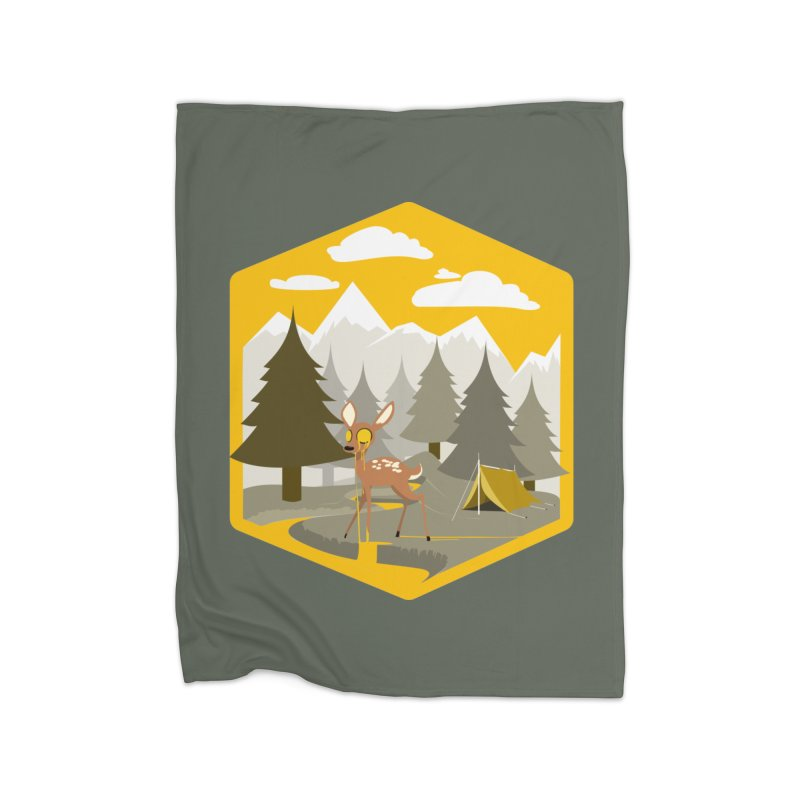 Yellowstoned Home Blanket by