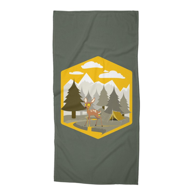 Yellowstoned Accessories Beach Towel by