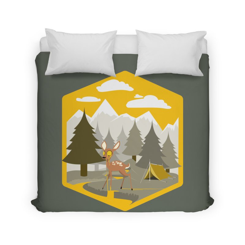 Yellowstoned Home Duvet by